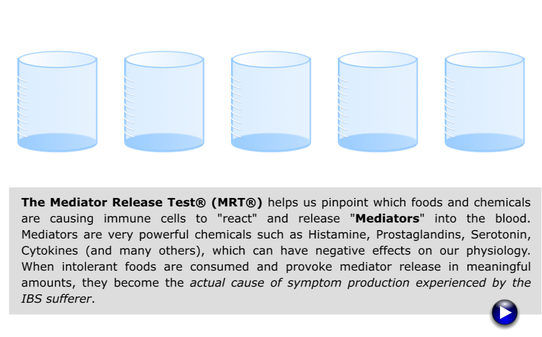 Mediator Release Test (MRT) Animation
